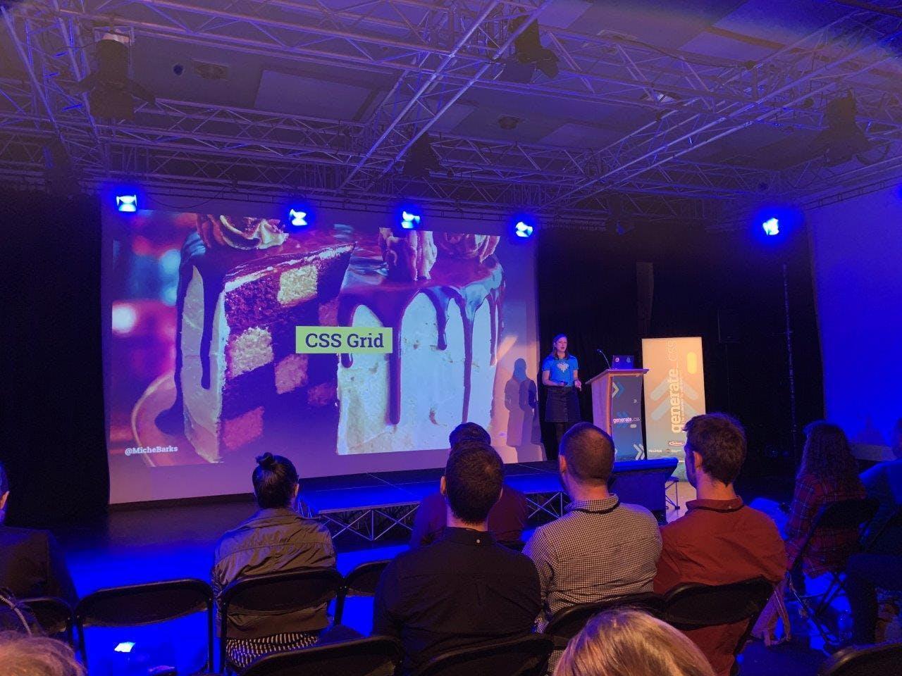 Presentation at Generate CSS 2019